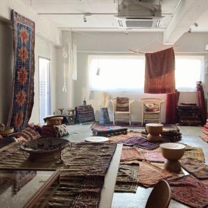 トライバルラグ展示会、Colors of Tribal Rug 残りあと3日。