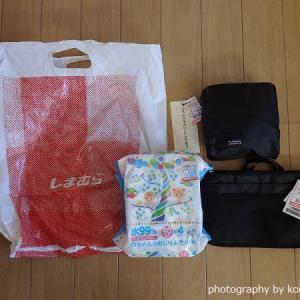 しまパト戦利品|福袋解体品のバッグ&チラシ掲載ポーチ【2020/1/9】