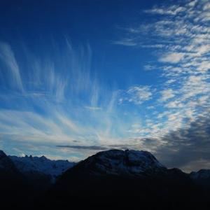 アルプスの空