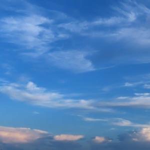 空が綺麗です