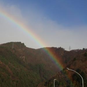 虹と日本海