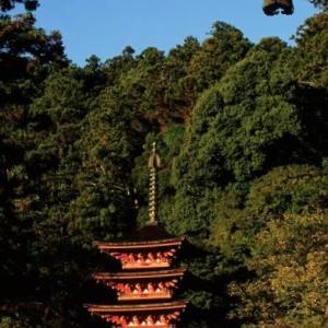 長谷寺の五重塔(奈良県)