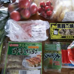 先週末買い物&ご飯   野菜は高いわやる気無しだわ