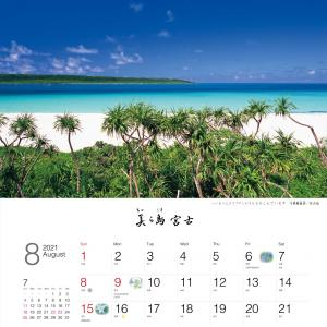 【2021年】宮古島 壁掛けカレンダーの中身をご紹介