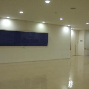 公共の場での堀本惠美子作品展示風景 其の一