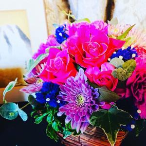 敬老の日 バラの好きな母