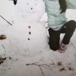 那須塩原の雪だるまと『出版記念展宇宙の愛の讃歌』のご案内・小田急