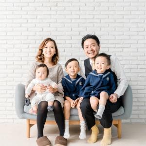 家族写真を撮ること