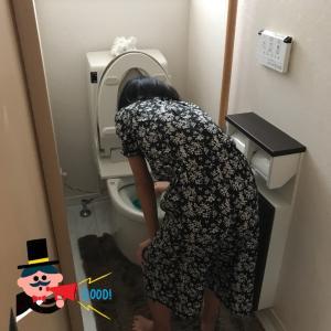 使い捨てトイレブラシとしばしの夫婦2人生活