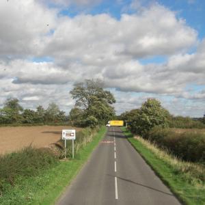 2008年10月 イギリスの田舎の風景