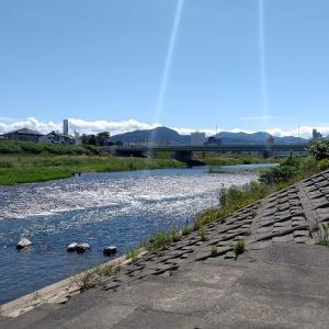 豊平川左岸