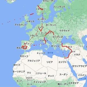 今更ながら世界一周の東南アジア部分を時系列に並べてみた