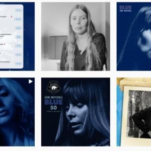 50周年の Blue ジョニ・ミッチェル