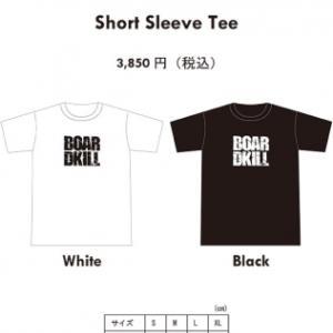 Vaga とBOARDKILLのコラボ Tシャツ予約受付!