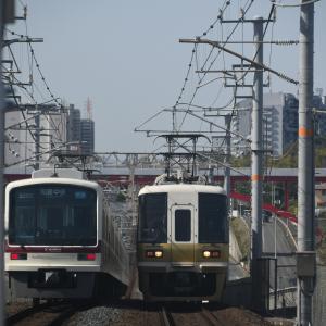 第2931回 泉北ライナーを栂・美木多駅で撮影