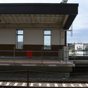第3030回 羽衣駅上り線高架工事中を撮影してきた。②