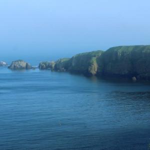 コバルトブルーの霧多布岬