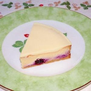 はちみつブルーベリーチーズケーキ