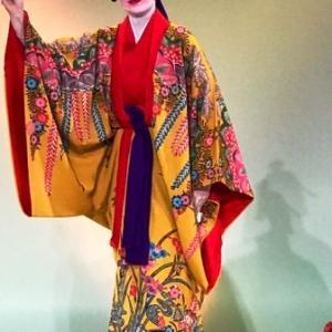琉球紅型と琉球舞踊