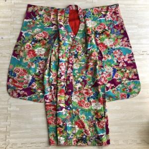 江戸小紋と子供の着物