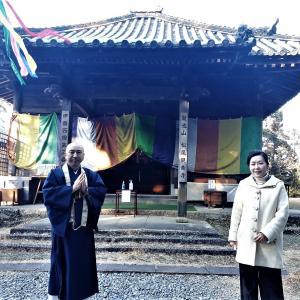 松尾観音寺へ心のふるさとロケ