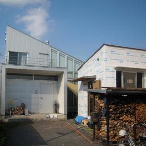 HOUSE-SI (佐野)は外壁下地完了!