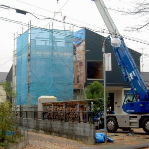 HOUSE-TKTは建て方完了!