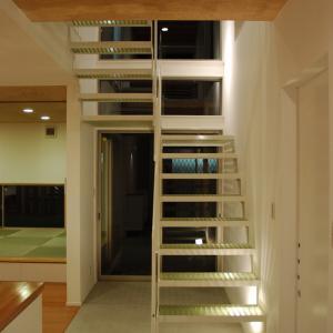 FRPグレーチングの階段!