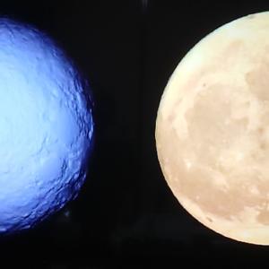 月 ~ 平面のよう
