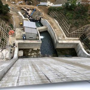 河内川ダム。