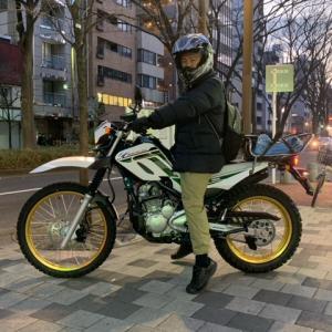 ヤマハ セロー250ファイナルエディション 納車!!