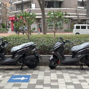 本日は黒いスクーターが3台入荷!!PCX160は即納車です!!