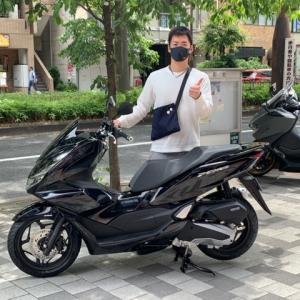 ホンダ PCX160ABS ブラック 納車!!