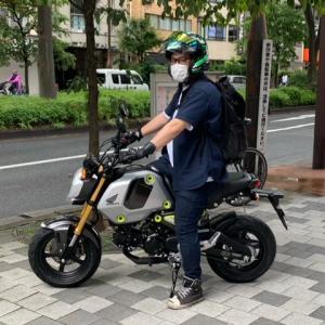 新型!!ホンダ グロム125 納車!!