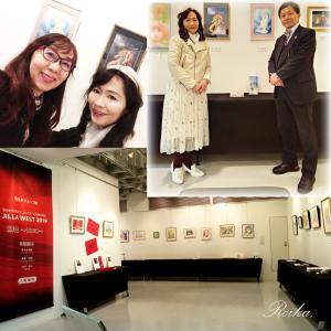 西日本イラストレーターの展示会【JILLA WEST 2019~緋色~】スタート