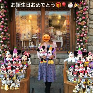 ミッキー&ミニーちゃんお誕生日おめでとう!!