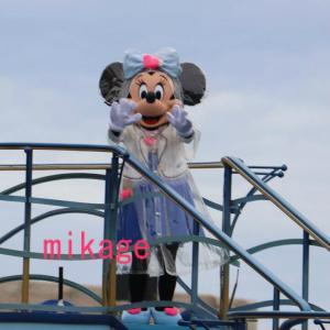 船上の可愛いミニーちゃん♪