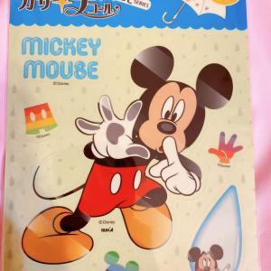 ビニール傘に貼るミッキーステッカー