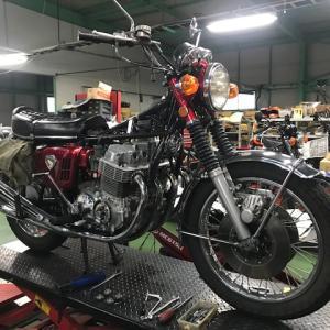 K様 HONDA CB750four K0 とことん車検!!