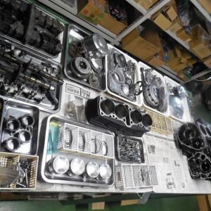 Z1000J エンジン 下準備~組み付け編です