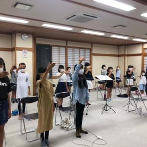 合唱団の練習の様子