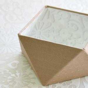 レッスン作品~「多面体ボックス」