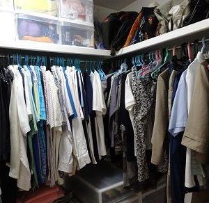 衣類の持ち数調べ 冬物衣類と総枚数