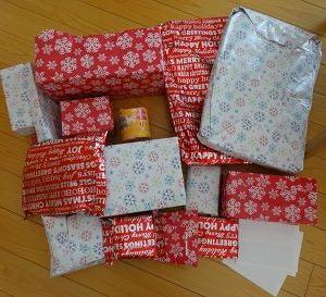 アメリカから届いたクリスマスプレゼント♪