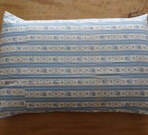 買わない生活・・枕カバーを作りました