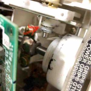 ミシンの修理(下糸用ボビン糸巻き機能故障)