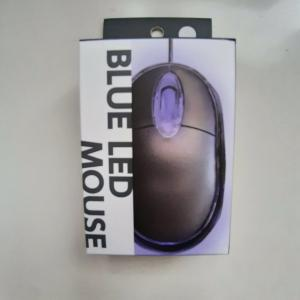 """ダイソーIT小物(2)ホントに""""110円""""の「BLUE LED マウス」レビュー"""