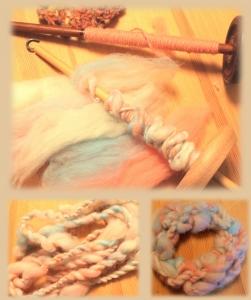 スピンドル 紡ぎ体験