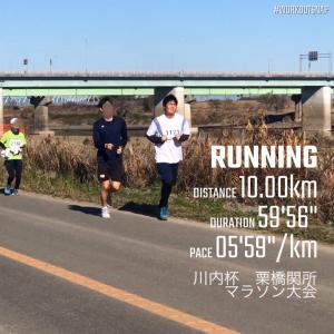 年末マラソン!(川内杯栗橋関所マラソン大会)に参加!!
