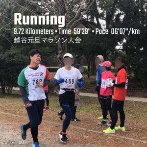 元旦マラソン大会に参加!!